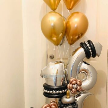 Number Balloon Designs
